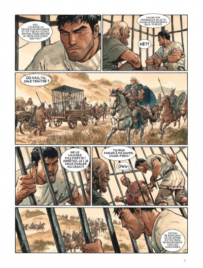 Page 7 Les aigles de Rome tome 5