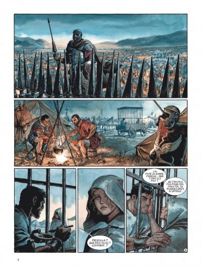Page 8 Les aigles de Rome tome 5