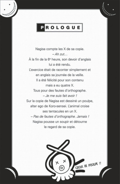 Page 6 Assassination classroom - Manuel de vocabulaire en anglais