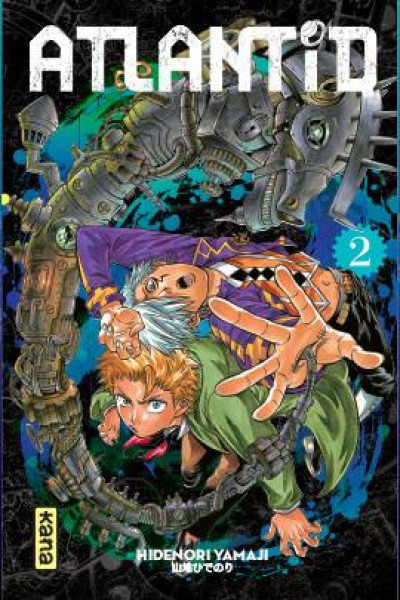 Couverture Atlantid tome 2