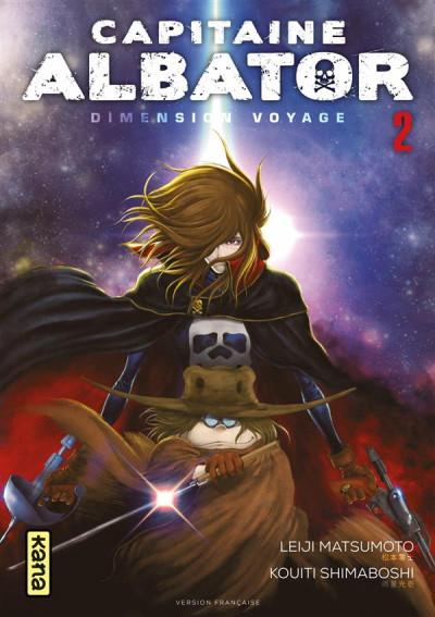 Couverture Capitaine Albator - Dimension voyage tome 2