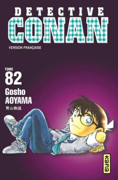 Couverture Détective Conan tome 82