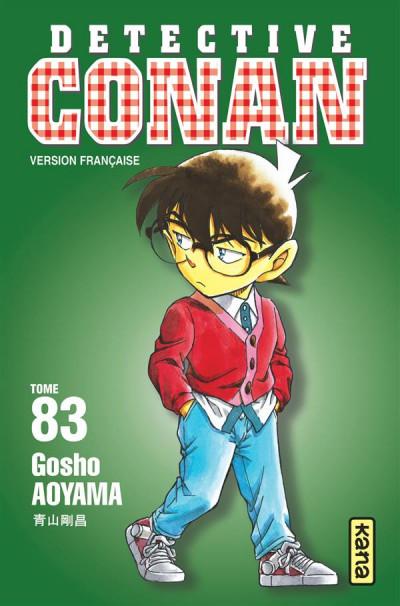 Couverture Détective Conan tome 83