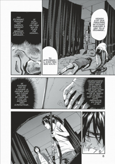 Page 8 Lesson of the evil tome 9