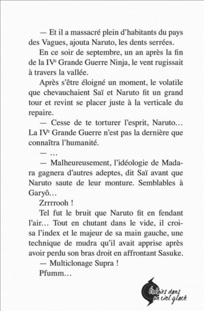 Page 9 Naruto - Le roman de Kakashi