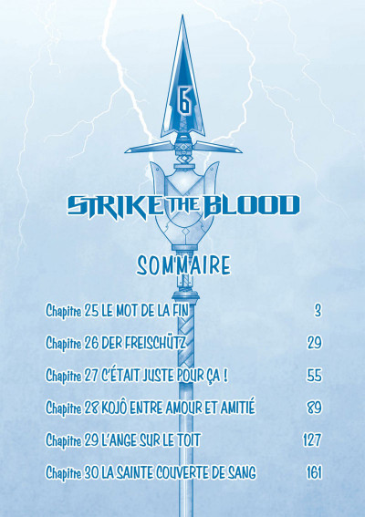 Page 2 Strike the blood tome 6