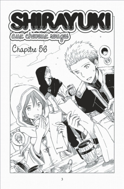 Page 3 Shirayuki aux cheveux rouges tome 13