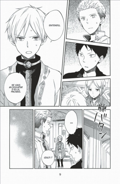Page 9 Shirayuki aux cheveux rouges tome 13