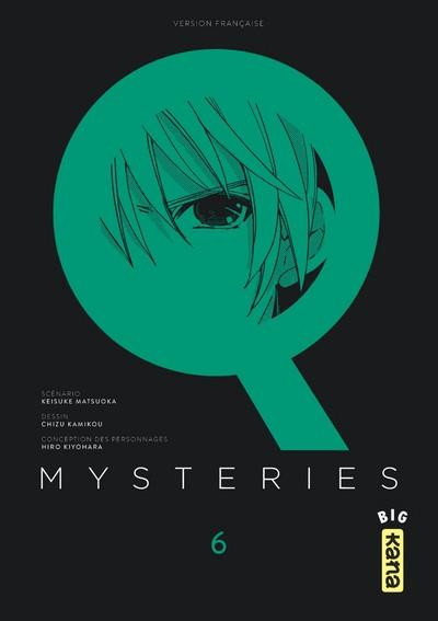 Couverture Q mysteries tome 6