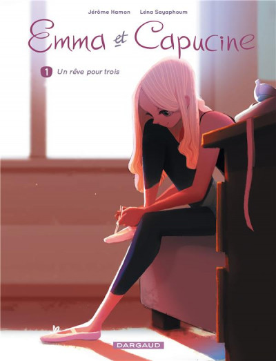 Couverture Emma et Capucine tome 1 + ex-libris offert