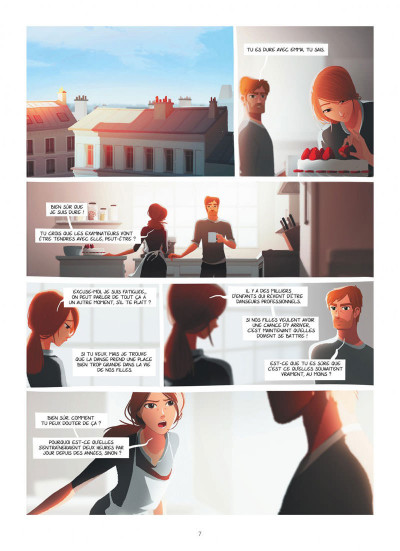 Page 7 Emma et Capucine tome 1 + ex-libris offert