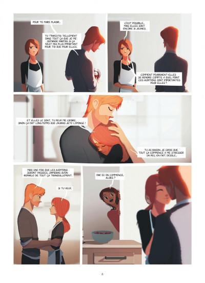 Page 8 Emma et Capucine tome 1 + ex-libris offert