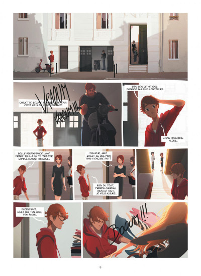 Page 9 Emma et Capucine tome 1 + ex-libris offert