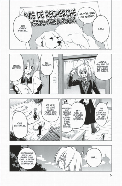 Page 6 Hayate the combat butler tome 29