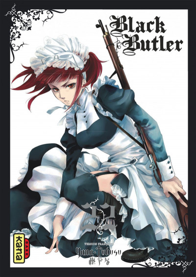 Couverture Black butler tome 22