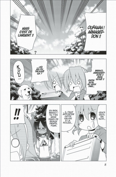 Page 8 Hayate the combat butler tome 30