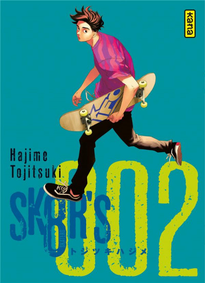 Couverture Sk8r's tome 2