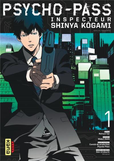 Couverture Psycho-Pass inspecteur Shinya Kôgami tome 1