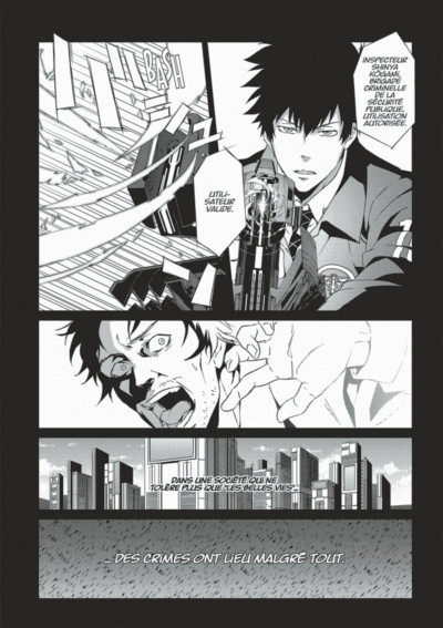 Page 9 Psycho-Pass inspecteur Shinya Kôgami tome 1