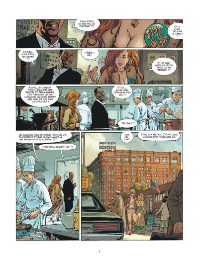 Page 3 XIII mystery tome 11 - Jonathan Fly