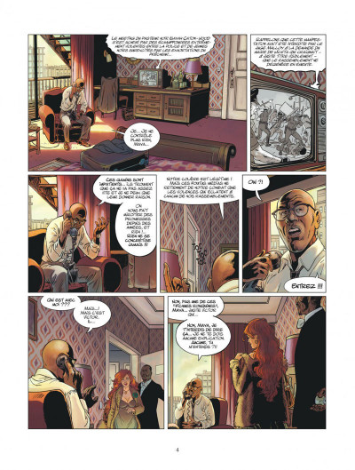 Page 4 XIII mystery tome 11 - Jonathan Fly