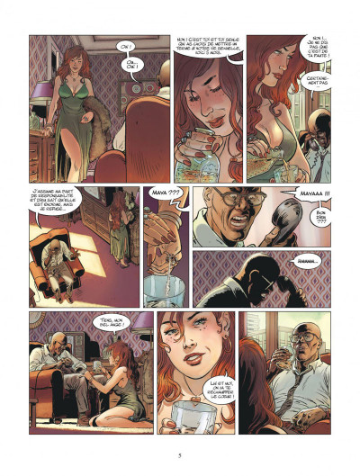 Page 5 XIII mystery tome 11 - Jonathan Fly