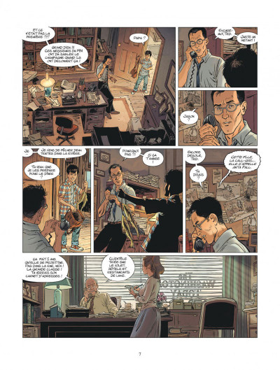 Page 7 XIII mystery tome 11 - Jonathan Fly