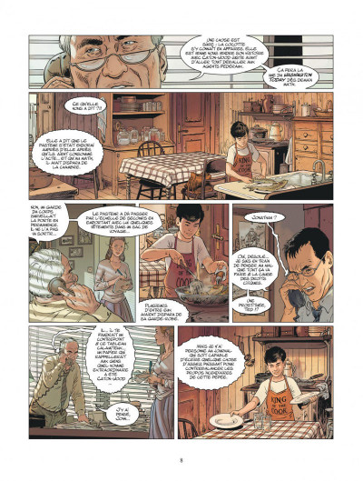 Page 8 XIII mystery tome 11 - Jonathan Fly