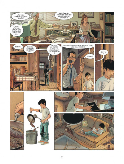 Page 9 XIII mystery tome 11 - Jonathan Fly