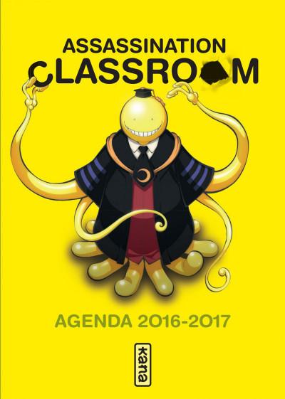 Couverture Assassination Classroom - agenda 2016-2017