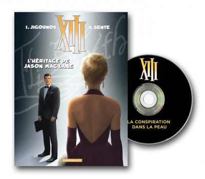 Couverture XIII tome 24 - L'héritage de Jason Mac Lane + DVD