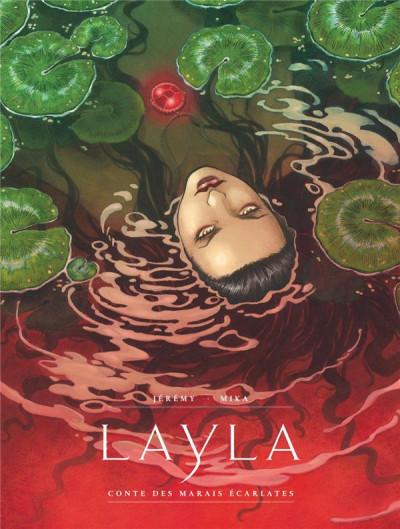 Couverture Layla - Conte des marais écarlates