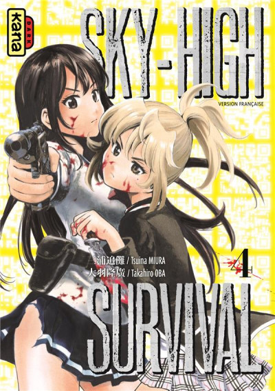 Couverture Sky high survival tome 4