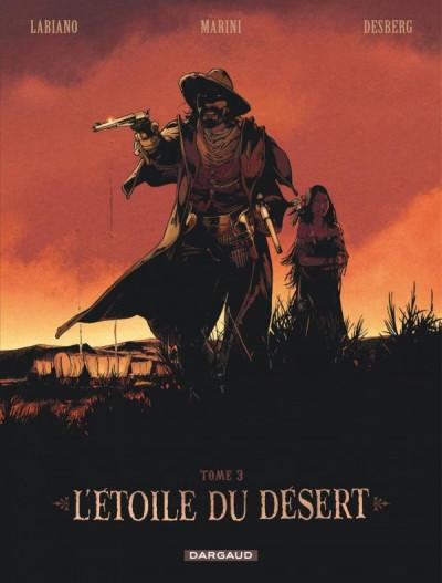 Couverture L'étoile du désert - édition spéciale tome 3 + portfolio