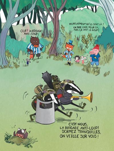 Page 8 Le loup en slip tome 1