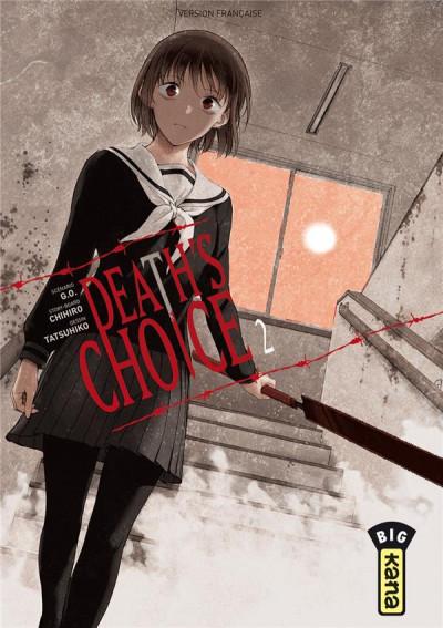Couverture Death's choice tome 2