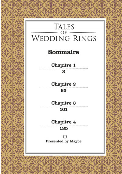 Page 2 Tales of the wedding rings tome 1