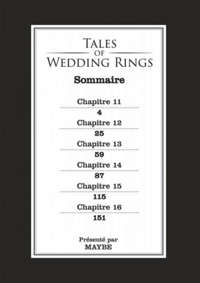 Page 3 Tales of wedding rings tome 3