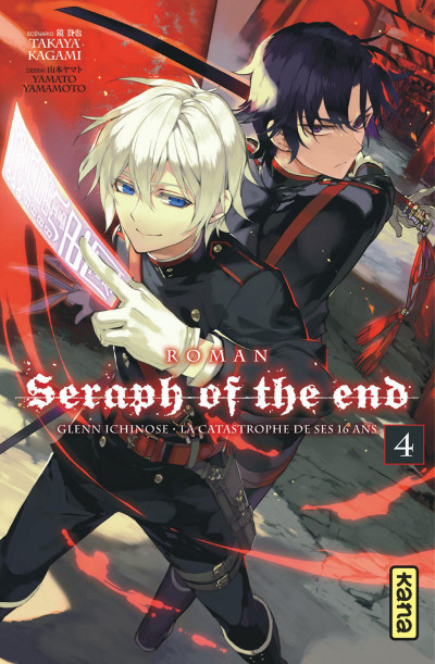 Couverture Seraph of the end - roman tome 4