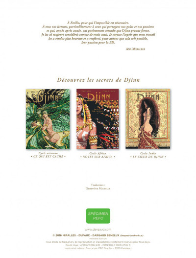 Page 2 Djinn - hors-série - Le coeur de Djinn