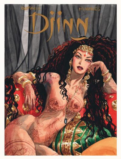 Page 5 Djinn - hors-série - Le coeur de Djinn