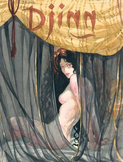 Page 8 Djinn - hors-série - Le coeur de Djinn