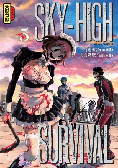 Couverture Sky high survival tome 5