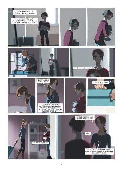 Page 4 Emma et Capucine tome 2