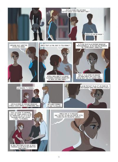 Page 5 Emma et Capucine tome 2
