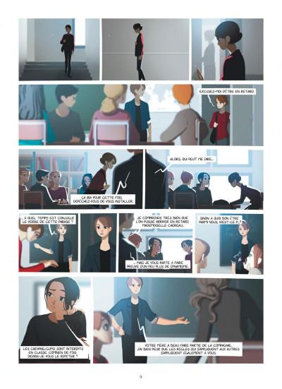 Page 9 Emma et Capucine tome 2
