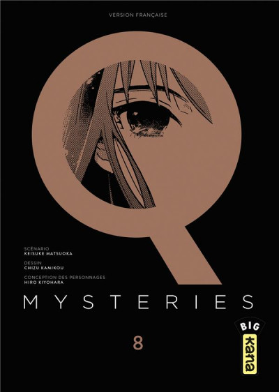 Couverture Q mysteries tome 8