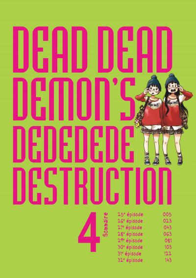Page 4 Dead dead demon's dededede destruction tome 4