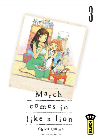 Couverture March comes in like a lion tome 3