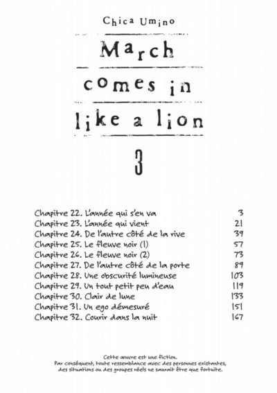 Page 2 March comes in like a lion tome 3